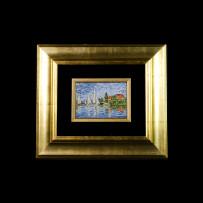 Mosaic : Barche Manet 11×16