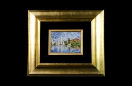 Mosaico : Barche Manet 11×16