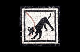 Mosaico : Cave Canem 15×15