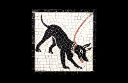 Mosaico : Cave Canem 21×21