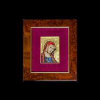 Mosaic : Madonna Bizantina 10×14