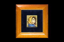 Mosaico : Volto Ferruzzi 10×11