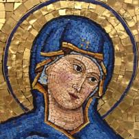 Mosaico: Madonna Bizantina – 10×10
