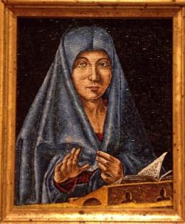 Mosaico: Madonna di Antonello Da Messina – 16×19