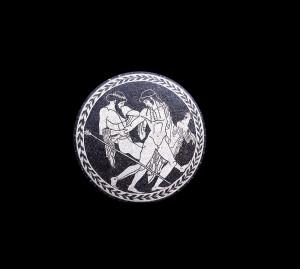 Zeus e Gianimede - Bracalenti - Tondo